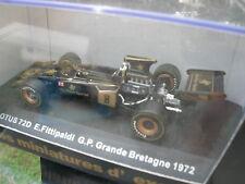 SUN STAR 1/43 LOTUS 72D E.FITTIPALDI GP GRANDE BRETAGNE 1972 !!!