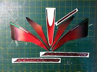 Aprilia DORSODURO 750 2008 Rosso e Nero - adesivi/adhesives/stickers/decal