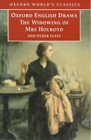 The Widowing of Mrs Holroyd and Other Plays (Oxford World's Classics)-ExLibrary