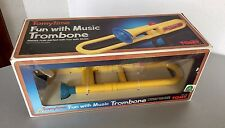 VINTAGE#80s RARE TOMY TOMYTIME FUN WITH MUSIC#TROMBONE#NIB