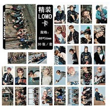 30pcs set Kpop Bangtan Boys YOU NEVER WALK ALONE Photo Poster Lomo Card