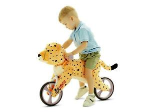 Laufrad Kind Leoparden -Style, Fahrrad, Alu, Plüschpferd Schaukelpferd