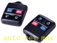 Pair New Replacement Remote Keyless Entry Key Clicker- 4 Button for Ford Mustang