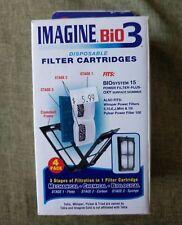 IMAGINE BIO 3 Filter Cartridge 4 Pack Biosystem15 Whisper 5/10/E/J/10i (7.26-10)