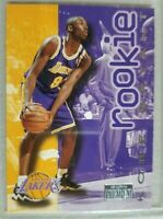 Kobe Bryant 1996 1997 Rookie Skybox LA Lakers RC Black Mamba