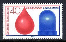 Germania OVEST 1974 donatori di sangue incidente & Rescue Service SG 1687 Unmounted MINT