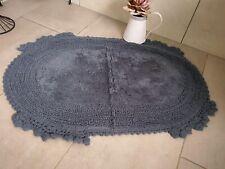Bath Mat Rug Bath Mat Bathroom Rug Shower Mat Shabby Chic Blue