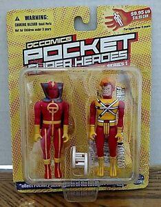 Silver Age Firestorm & Red Tornado DC Comics Pocket Super Heroes/Series 1