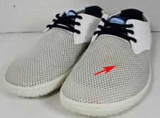Vivobarefoot Hombre Ra Lite con Cordones Zapatos, Malla Blanco, 49 Eu / 15 Us