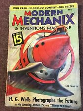 Modern Mechanix and Inventions  Magazine MAY 1936