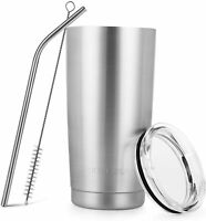 Stainless Steel Tumbler 20 Oz Vacuum Insulated Tumbler Coffee Cup Double Wall Wi