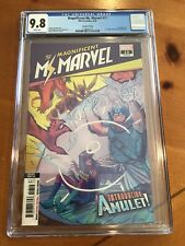 Magnificent Ms. Marvel #13 CGC 9.8 White NM 1st APPEARANCE AMULET 2nd Print
