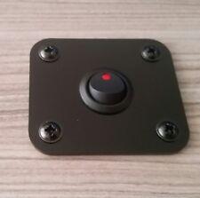 Camper Van Gloss Black Control Panel 65mm x 57mm