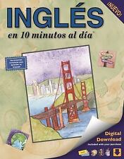 INGLES EN 10 MINUTOS AL DIA/ ENGLISH IN 10 MINUTES - KERSHUL, KRISTINE K. - NEW