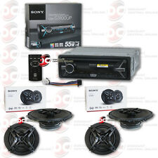 "SONY CDX-G3100UP CAR CD USB STEREO WITH 4 x CAR AUDIO  6.5"" 3-WAY COAX SPEAKERS"