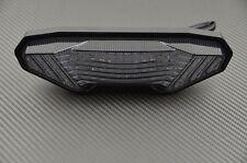 Feu arrière fumé clignotant intégré tail light Yamaha Tracer MT07 MT-07 2016