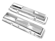 1963 1964 1965 1966 Impala 283 327 Chrome Valve Covers Sold As Pair (In Stk)