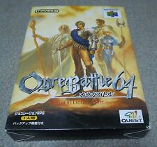 Nintendo 64 The Ogre Battle rare Japanese
