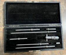 Starrett 2 8 Inside Micrometer Set Machinist Machine Shop Tools Usa