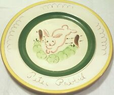 Stangl Peter Rabbit Plate 9.5 Inches