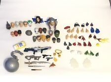 Marvel legends heads and hands weapons and accessories lot of 72 pieces