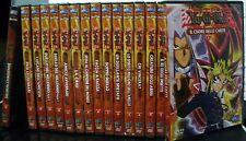 YU-GI-OH! (en italiano) lote 16 dvd con 3 episodios Algunos de los dvd con rayas