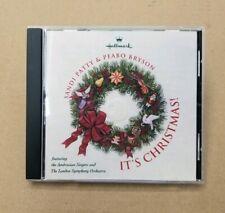 Sandi Patty & Peabo Bryson - It's Christmas CD 1996 Hallmark London Symphony