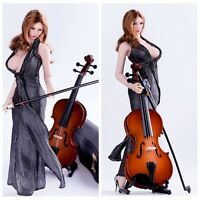 "1/6 Scale Musical Instrument Cello DIY Scenery Accessories For 12"" Action Figure"