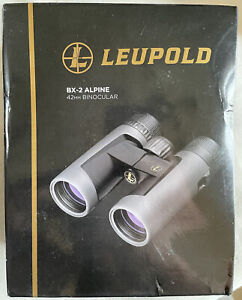 Leupold BX-2 Alpine Binocular, 10x42mm, Roof Prism, Shadow Gray 176971