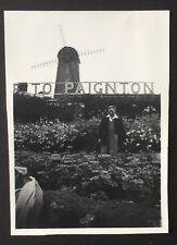 PHOTOGRAPH Paignton - Windmill & Sign 1953 Devon 8 cm x 5.5 cm 1301