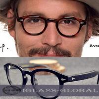 Deluxe Acetate Eyeglass frames Women Men Eyewear retro RX Glasses Full-rim Black