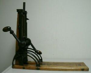 Vintage AJAX Barn Beam Drill Boring Timber Framing