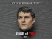 "Custom 1/6 Scale Brother Production TOM Cruise Head Sculpt F 12"" Figure Body"
