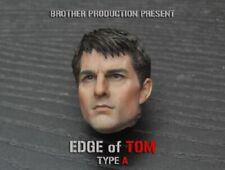 "Custom 1/6 Scale Brother Production TOM Cruise Head Sculpt F 12"" Figure Body"