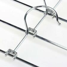 5pcs Stainless Steel Clip Hangers Clothes Coat Trouser Skirt Fancy Dress