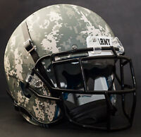 *CUSTOM* ARMY BLACK KNIGHTS NCAA Schutt XP Authentic GAMEDAY Football Helmet