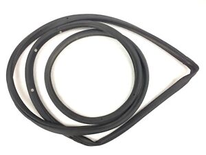 96-00 Civic 4Dr Right Rear Weatherstrip Gasket Rubber Around Door Seal Used OEM