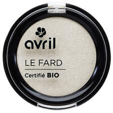 Fard à paupières Ivoire Nacré Certifié Bio Vegan Naturel Cosmétique AVRIL