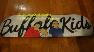 Official Authentic Westside Gunn WSG Griselda BUFFALO KIDS 410 Skateboard Deck