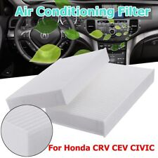 2pcs Cabin Air Filter for Honda Civic CRV 2002-2005 for Acura RSX 2002-2006 CAO