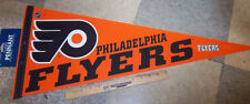 Philidelphia Flyers NHL Hockey Team 30 x 12 Felt Pennant, made in USA, orange