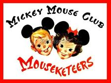"Mickey Mouse Club Mousekeers 2"" x 3"" Fridge MAGNET vintage art"