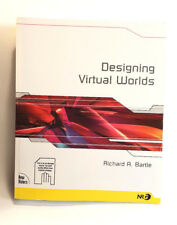 New Riders Games: Designing Virtual Worlds by Richard Bartle (2003, Paperback)