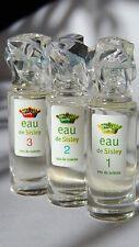 EAU de SISLEY 1/2/3 - 3 x 2 ml EDT  *** 3 PARFUM-MINIATUREN incl. OVP/BOX ***