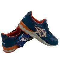 Asics Gel-Lyte V GS C541N Damen Schuhe Turnschuhe Blau Rot Weiß US 4.5