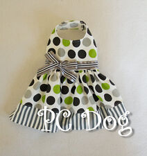 L Green and Silver Dog dress clothes pet apparel Clothing Large PC Dog®