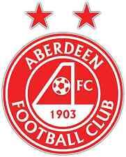 """Aberdeen FC Scotland Football Soccer Car Bumper Sticker Decal 4""""X5"""""""