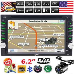 "Backup Camera for Samsung Double 2Din Car Stereo Radio DVD Player GPS 6.2""Camera"