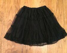 The Children's Place Girls Black Skirt SIZE 6X/7 EUC