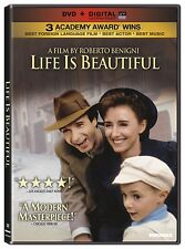 Life Is Beautiful Robert Benigni Used Very Good Inspirational Dvd
